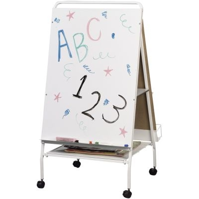 Best Rite Baby Folding Wheasel Storage Cart Big Book Easel - White Red Blue  sc 1 st  Plain and Simple Deals & Best Rite Baby Folding Wheasel Storage Cart Big Book Easel - White ...